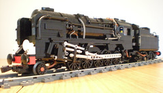 9f (bricktrix) Tags: train lego steam eveningstar 9v blackprince 9f