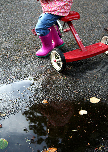 Tricycle Puddle