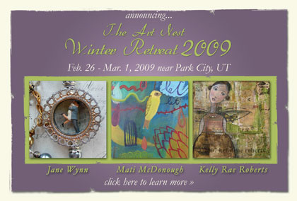 heading to the art nest to teach! more info at www.theartnest.net