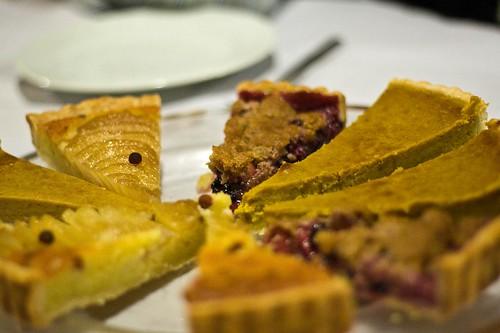 Platter of pie
