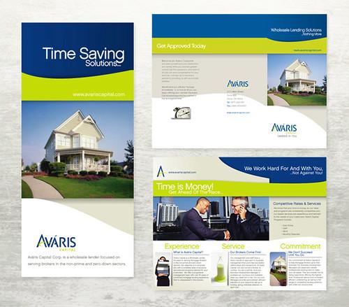 real estate brochure design. Avaris Real Estate Brochure