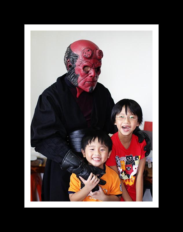 scaring 2 kiddo