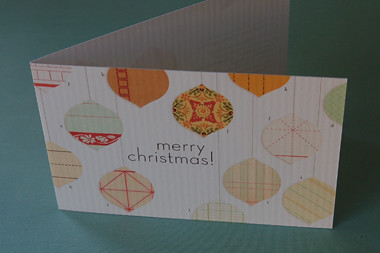 christmas card by you.