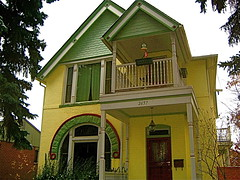 Yellow and Mint Green Victorian (MidiMacMan) Tags: desktop houses homes wallpaper house building brick architecture modern buildings background denver download gable denvercolorado italianate midimacman stegeman fauxtography hippedroof americanartist curtispark denverarchitecture denvercoloradousa johnathanjstegeman midimacroman stoutstreet johnathanjosephstegeman johnathanstegeman
