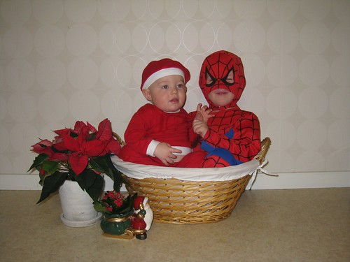 Spiderman vs. Santa