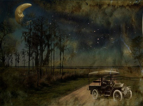 Midnight Tryst on a Country Road