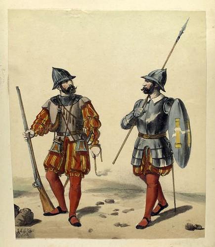 015.Arcabucero y Piquero año 1530
