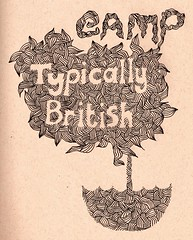 Gamp- Typically British (TheCubb ▲▲) Tags: umbrella graphic line doodle font form gentleman gamp thcubb