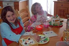 Ginger bread house girls