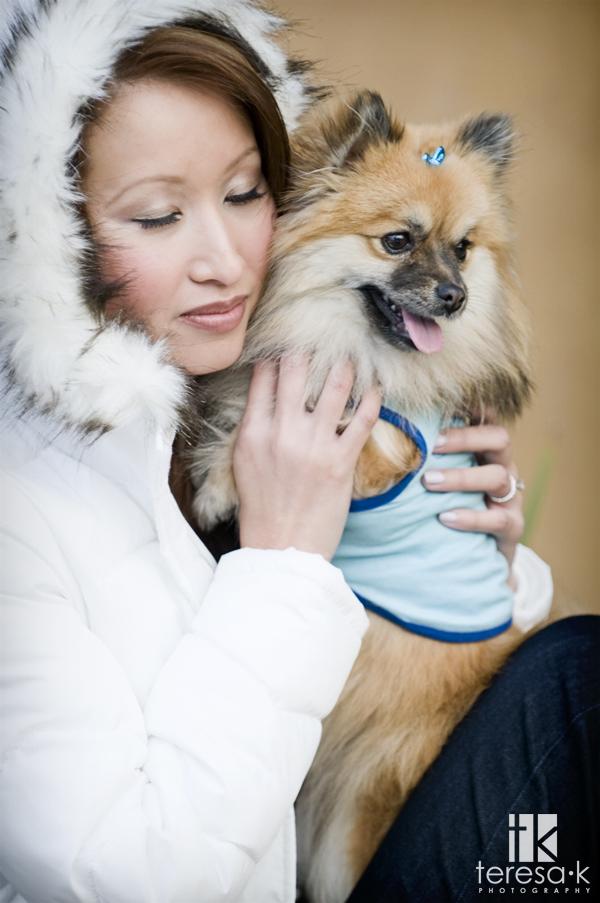 Nila and Ninja Bob, pet portraits by Sacramento portrait photographer Teresa K of Teresa K photography