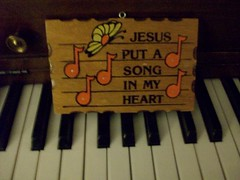 S-W-E-E-T-A-S-H-E-L-L (prairie doggin) Tags: wood old grandma house cute love true plaque vintage butterfly heart song jesus piano grand put noice musicnote