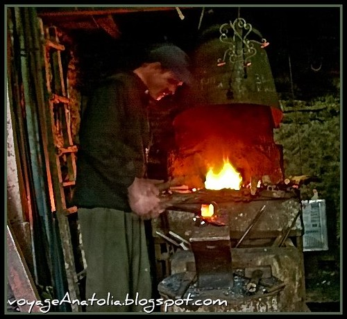 Blacksmith at Safranbolu by voyageAnatolia