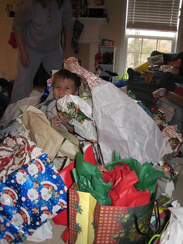 Dont let all of your wrapping paper end up at the dump. Image from Flickr.