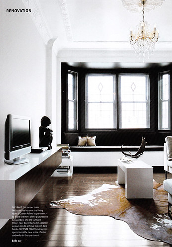 black window wall