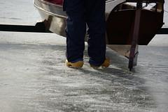 spiked clogs (miss Tempel) Tags: iceskating schaatsen monnickendam icesailing ijspret gouwzee ijszeilen