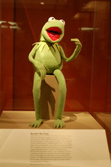 Kermit the Frog at the National Museum of Natural History
