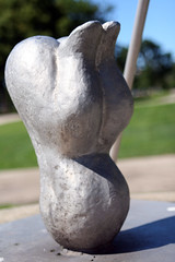 Torso First (When lost in.....) Tags: city urban chicago illinois southside hydepark washingtonpark dusablemuseumofafricanamericanhistory nophotographyallowedinsodethemuseum