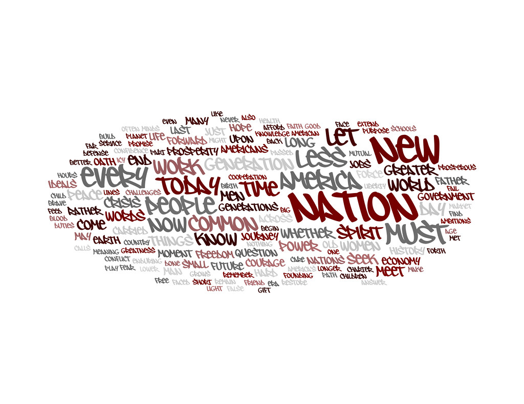 Wordle - Obama Inaugural Speech