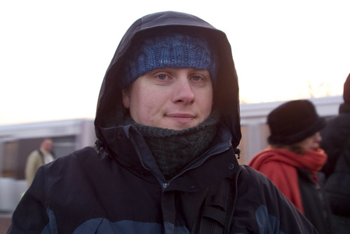 Erik ready for the Cold