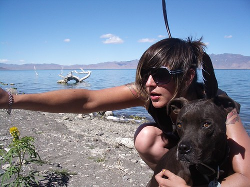 ana poe and paco at pyramid lake