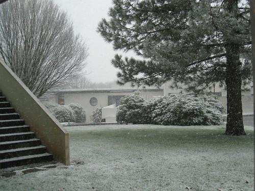 Il neige à Brest