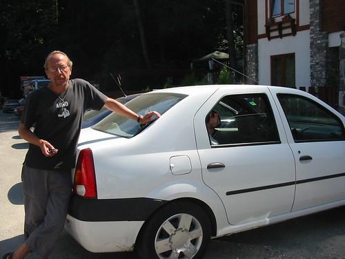 trotse eigenaar van en Dacia