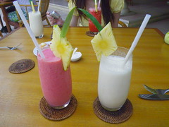 Strawberry Juice & Banana Juice