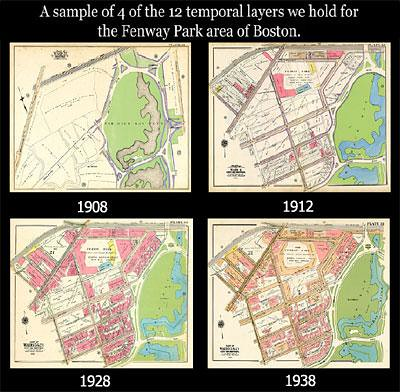 Historical Map Works Boston example