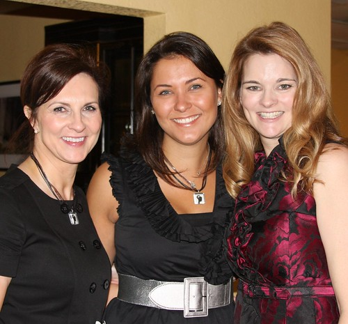 denise, esther, me