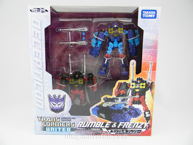 Transformers Frenzy & Rumble United Scout - caja