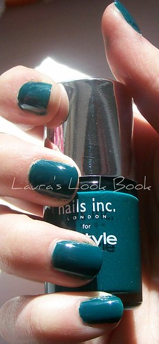 Nails Inc for InStyle Electric Teal