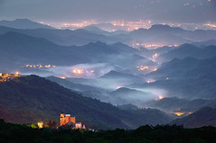 -  () Tags: fog night sunrise taiwan    dreamtheater