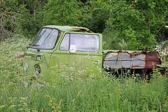 Abandoned Sweden (Ankar60) Tags: old summer green abandoned up car volkswagen europa sweden rusty swedish bil sverige pick rostig svensk sommar smrgsbord gammal grn de grnt vergiven vergivet