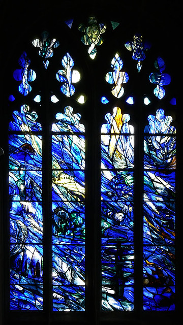 Tom Denny. Stained Glass Gloucester Cathedral