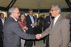 Italian Delegation, Afghan Entrepreneurs meet at PRT Herat.