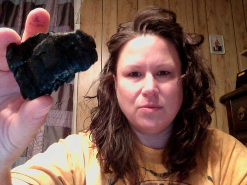 Lump of coal from my Fire Walk