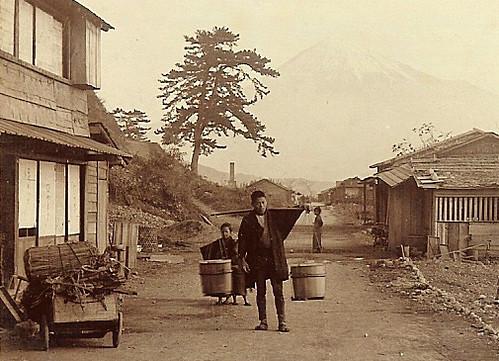 Mt. Fuji and the Bucket Boy
