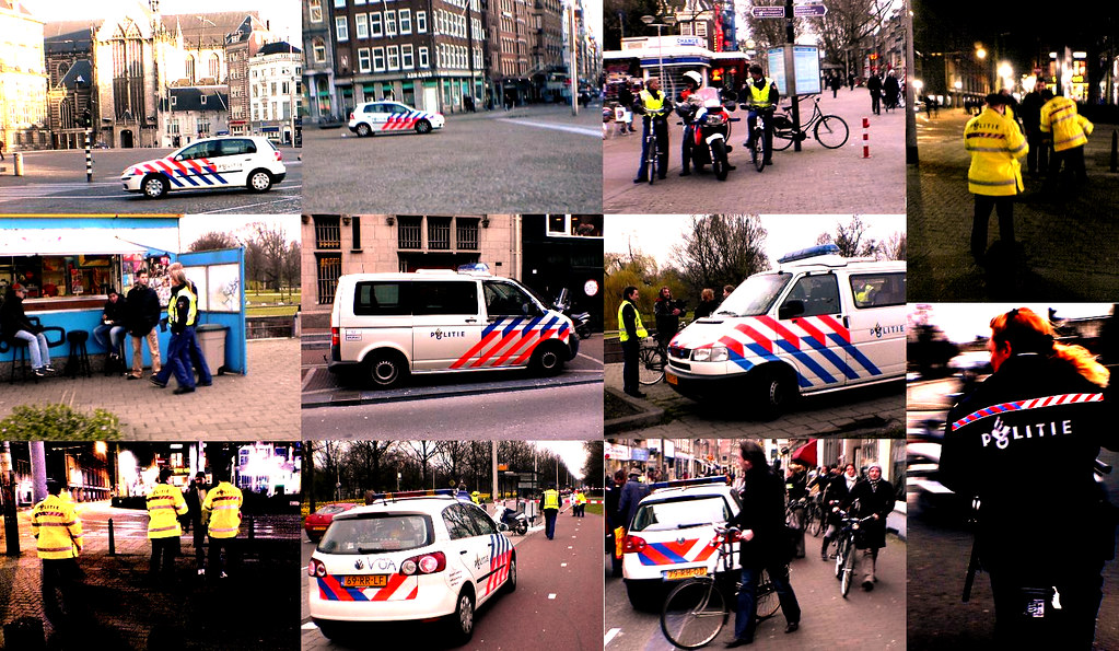 Bad Boys, Bad Boys, Whatcha Gonna Do...A Typical Day In Cop-City Amsterd@m