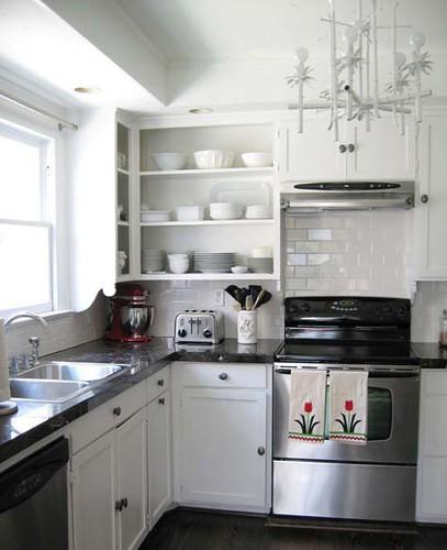 Black And White Kitchen Interior Design Ideas
