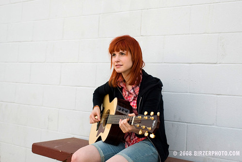 Haley Williams of Paramore