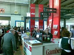 Stand Gambero Rosso al Vinitaly