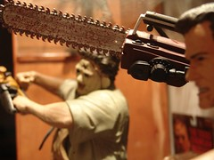 n593795011_2647085_2206 (betamaxboy) Tags: toy toys actionfigure leatherface actionfigures brucecampbell armyofdarkness mcfarlane texaschainsawmassacre