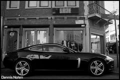 Jaguar XKR Coupe (Denniske) Tags: black canon lens eos rebel kiss noir kitlens x kit jaguar 1855mm 1855 dennis zwart efs schwarz xkr noire noten carspotting f3556 xti 400d rebelxti eos400d kissx aplusphoto denniske dennisnoten