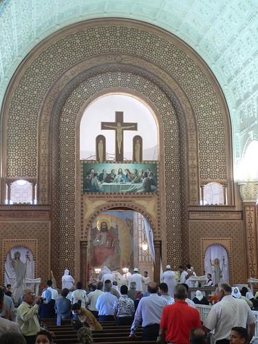 Den nye kirke i Abu Mina