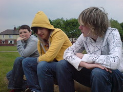 Bench. (xgemstar) Tags: friends shane may mikey 2008 24th nath