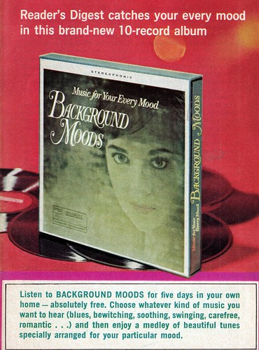 IMG mood music ad 1967 Reader's Digest