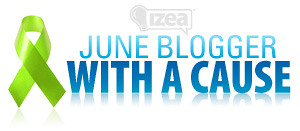 June Blogger with a Cause header