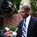 Kevin Johnson at Obama Rally