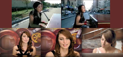 Sara Bareilles and Vanessa Carlton