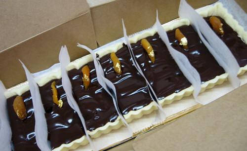 Chocolate Apricot Tart (6/08)